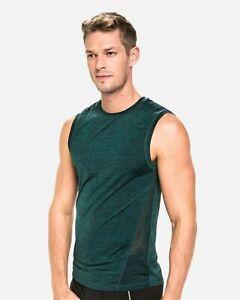 TEAMM8 Triumph muscle tank green men gym fitness size XL