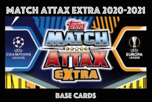 TOPPS CHAMPIONS LEAGUE MATCH ATTAX EXTRA 2020/21 20/21
