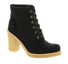 UGG SOFIA  Black Suede Leather Boots $378 Sz. 9 EU 40