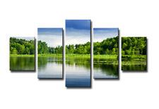 Bild 5 tlg Natur Bild visario MarkenLeinwand 160x80cm XXL Bilder Nr 5565 >