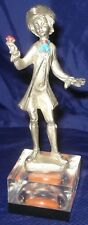 RP838 Vtg Cesellato A. Mano Peltro Italy Pewter Figurine
