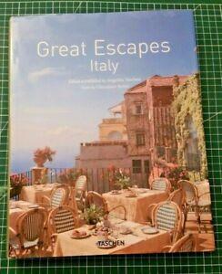 Great escapes Italy Tashen 2010 très bon état