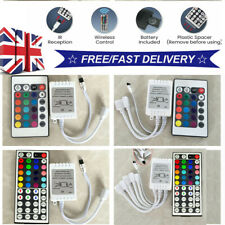 1/2/5* 44 24 Key IR Remote Controller For RGB 3528 5050 LED Strip Light 12Volt