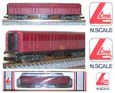 LIMA 320865 CARRO MERCI FS da 42Ton TRASPORTO BESTIAME con SOFFIETTI BOX SCALA-N