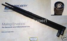 9dBi Dual RP-TNC Antenna Kit Linksys WRT54GL WRT54G WRT54GS WAP54G WRT54G-TM USA
