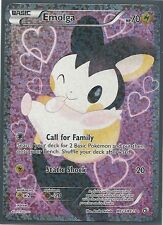 2X EMOLGA FULL ART RC23 RADIANT COLL HOLO Legendary Treasures Pokemon Card MINT
