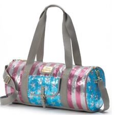 Juicy Couture Patriotic Duffle Bag, Red Silver Blue