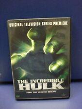 The Incredible Hulk: Original Television Premiere (DVD) Bill Bixby, Lou Ferrigno