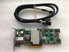 LSI/DELL MegaRAID 9280-4i4e 4 Int 4 Ext  6G RAID Card DELL 55G6T+SFF-8087-7pin