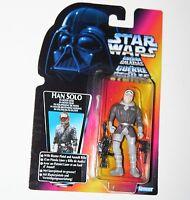 Star Wars POTF Figure - HAN SOLO in Hoth Gear