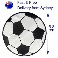 Soccer ball iron on patch - large football sport fc transfer iron-on patches