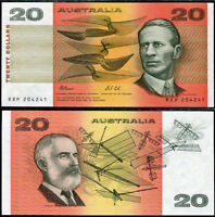 AUSTRALIA 20 DOLLARS ND1991 P 46 H UNC