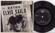 ELVIS PRESLEY - ELVIS SAILS Megarare 1958 NZ EP Release with 1959 Calendar!
