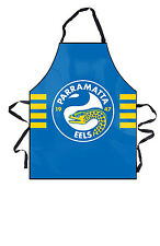 NRL Parramatta Eels  Kitchen BBQ Man Cave Apron Fathers Day Christmas Gift