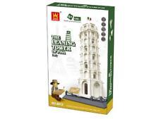 Leaning Tower Of Pisa Italy Building Blocks Bricks  - Wange