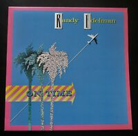 RANDY EDELMAN On Time ORIGINAL 1982 UK VINYL LP ROCKET RECORDS + LYRIC INNER