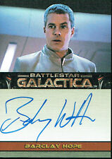 BATTLESTAR GALACTICA PREMIERE EDITION AUTOGRAPH CARD BARCLAY HOPE AS PILOT