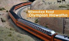 N Kato 106082 Milwaukee Road OLYMPIAN HIAWATHA 9-Car SET NIB