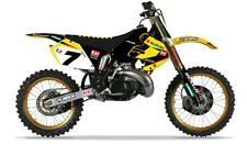 Yoshimura Suzuki AMA graphics kit RM 125 250 1999 - 2000 James Stewart Motocross