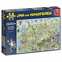 Jumbo 19088 Jan Van Haasteren-Highland Games 1500 Piece Jigsaw Puzzle, Multi