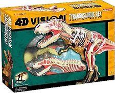 4D Vision Tyrannosaurus Rex Anatomy Model  CutAway Puzzle - Dinosauri - NUOVO