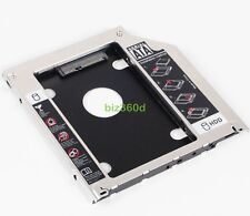 "2nd SATA HDD SSD Hard Drive Caddy Adapter for Apple Macbook pro 13"" 2010 Unibody"