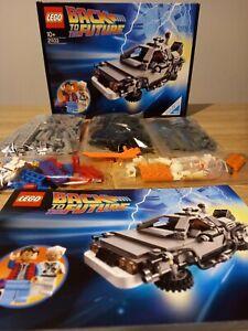 Lego 21103 - De Lorean Back to the future - 100% Complète avec boite et notice