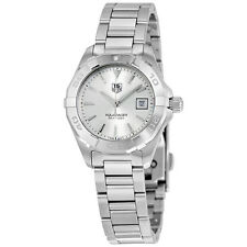 Tag Heuer Aquaracer Silver Dial Stainless Steel Ladies Watch WAY1411.BA0920
