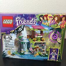 LEGO Friends 41033 Jungle Falls Rescue - BRAND NEW SEALED - includes Olivia MIB