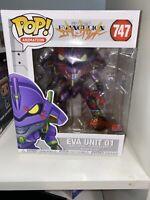 "Funko Pop Evangelion Eva Unit 01 Bloody 6"" Exclusive #747 Bloodied Variant"