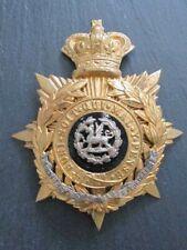 Military Badge - Officers Helmet Plate for Restorer!