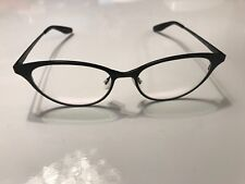 792cefee29a NEW BARTON PERREIRA Women s SONGBIRD MATTE BLACK TITANIUM CAT EYES  EYEGLASSES