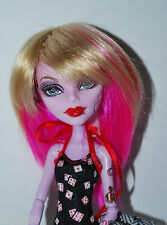 Monique Doll Wig Jojo Size 4-5 Blonde Pink Fits Barbie BJD Monster High Medium