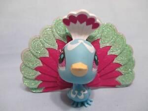 "Littlest pet shop peacock iron on heat transfer 2.5/""-9.5/"" inch"