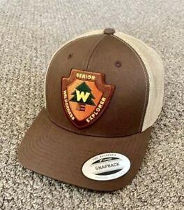 Wilderness Explorer Hat SnapBack Trucker Mesh Cap Handcrafted in America!