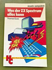 Was der ZX Spectrum alles kann - Grafik, Farbe und Musik - 1. Auflage von 1984
