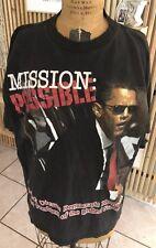BARACK OBAMA T Shirt Adult 2XL President Mission Impossible Rap Tee Black