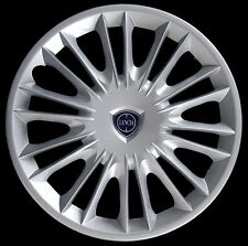 "Lancia Ypsilon Oro Kit 4 Copricerchi coppa ruota 15"" nuovo logo cod. 4289LC"