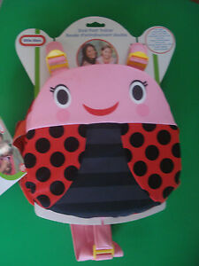 LITTLE TIKES FLOAT TRAINER LIFE VEST LITTLE LADY BUG 3 YR AND UP NEW