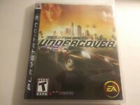 Need for Speed: Undercover (Sony PlayStation 3, 2008) Complete CIB