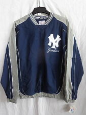 New York Yankees Adult Light Weight Nylon Pullover Jacket 50% OFF! - LA75M310