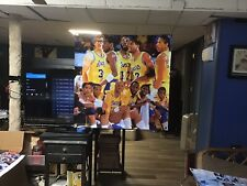 BIG! 36x36 Los Angeles Lakers Vinyl Banner POSTER Magic Johnson Art James Worthy