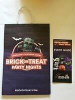 California Legoland Halloween Brick or Treat Bag and Event Guide