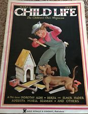 Child Life Magazine March 1935 Children's Own Depression Time Rand Mcnally