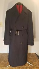 Men's Air Force Authentic Top Coat Dark Blue Size 40 Short