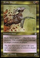 Acidic Sliver, NM English x 4 Stronghold mtg Low International Shipping