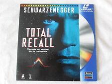 Laser disc   TOTAL RECALL  Arnold SCHWARZENEGGER