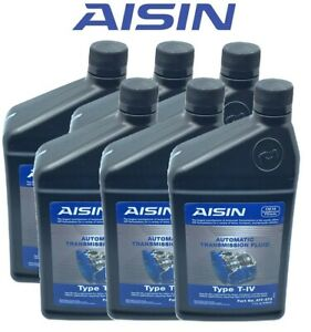Aisin Set of 6 Automatic Transmission Fluid ATF0T4 For Audi VW Toyota Ford Lexus