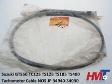 Suzuki GT550 TC125 TS125 TS185 TS400 Tachometer Cable GENUINE NOS JP 34940-34030