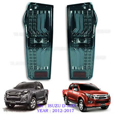Black Smoke Lens Led Rear Tail Light Lamp For Isuzu Holden Dmax D-Max 12 - 17